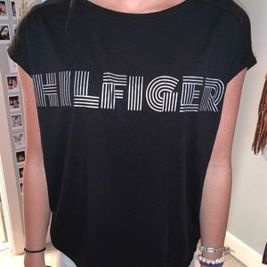 Black hilfiger top